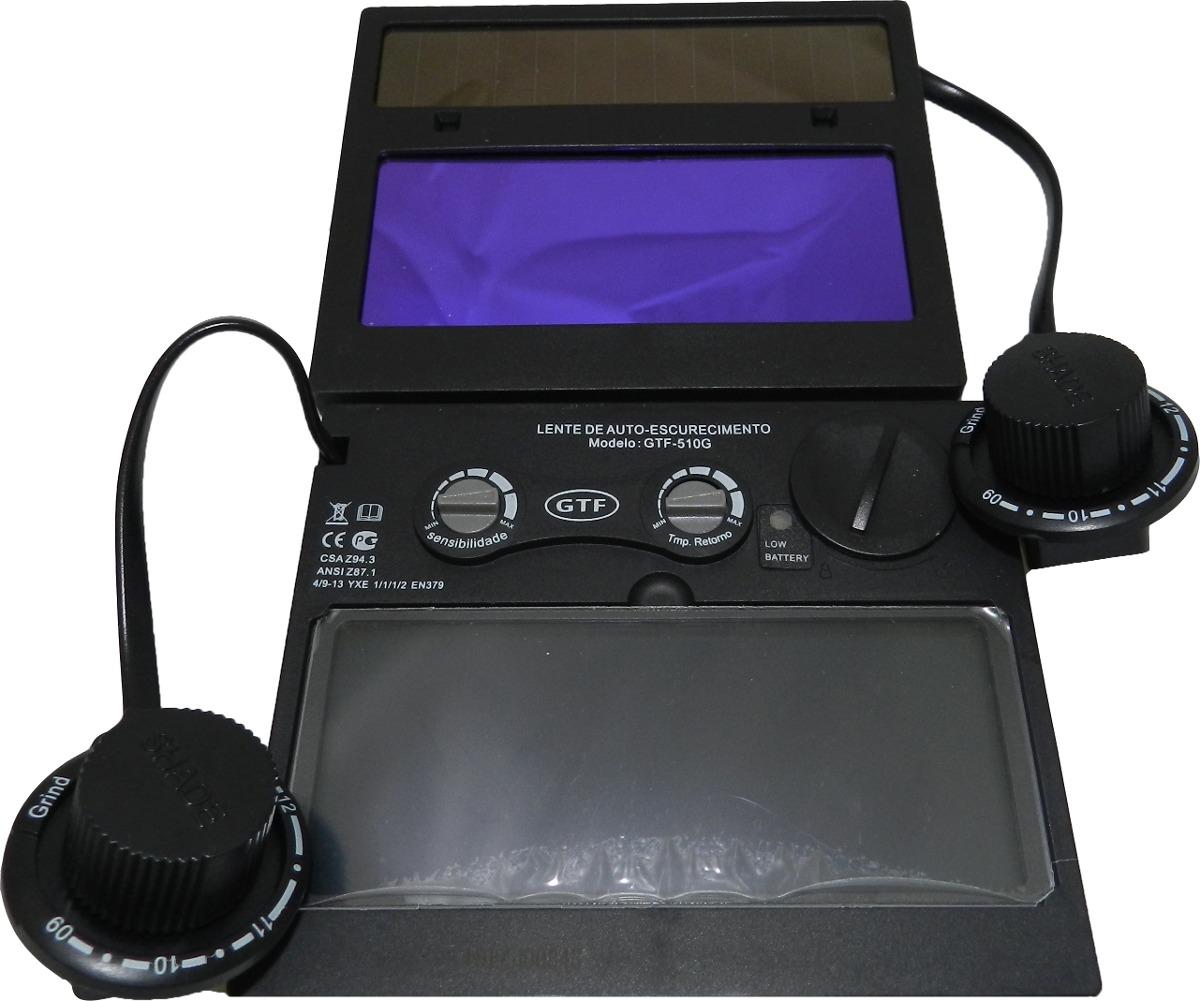 Lente Gtf-510g Para Máscara De Solda Automática - R  120,00 em ... fe9eda917c
