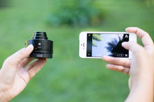 lente inalámbrico sony cybershot para android & ios 240 neg