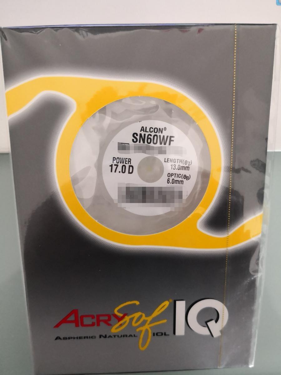 15685bcf99 Lente Intraocular Acrysof Iq 17.0 Lio - $ 1,840.00 en Mercado Libre