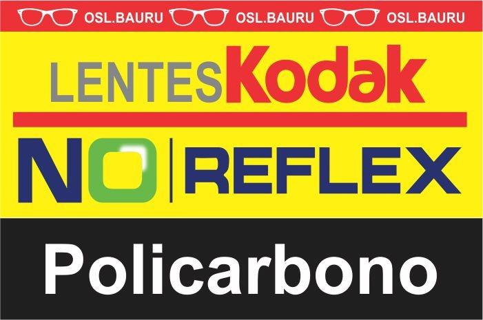 b26125f81f Lente Kodak 1,59 Poli No Reflex Grau Alto - R$ 426,10 em Mercado Livre