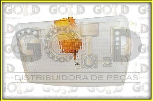 lente lanterna dianteira lado esquerdo iveco daily (98/07)
