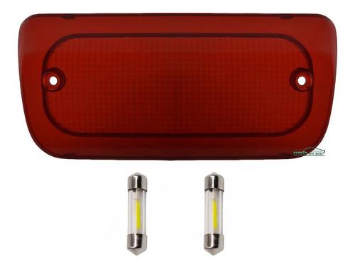 lente lanterna luz freio teto break light s10 + lâmpadas led