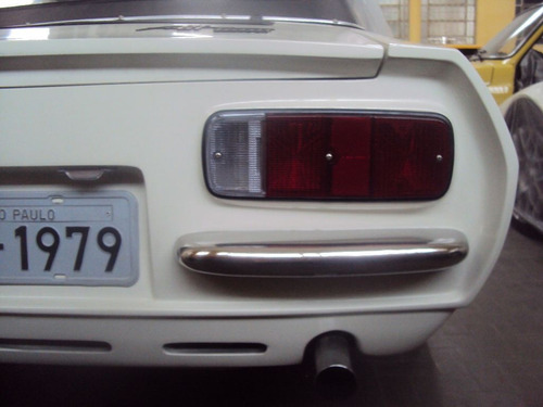 lente lanterna traseira borda preta puma gts e gte 1976 1980