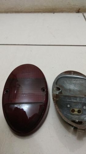 lente lanterna traseira + circuito fusca 1300 original vw