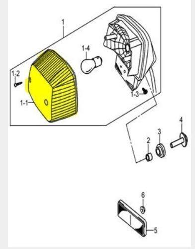 lente lanterna traseira intruder 125 2012 a 2017 35712053b0