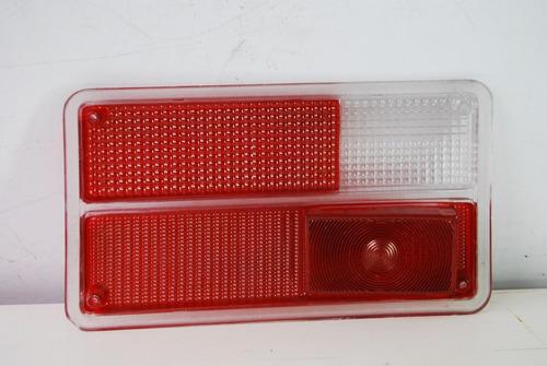 lente lanterna traseira variant i 73 a 77 bicolor rubi ld