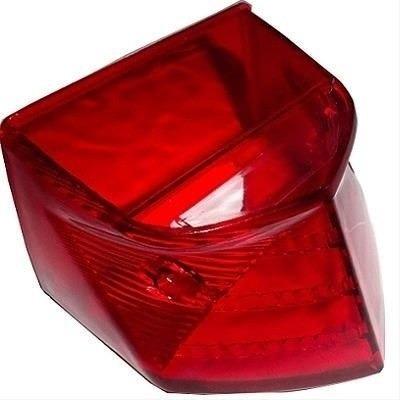 lente lanterna traseira vermelha cb 300/xre 300 stlu