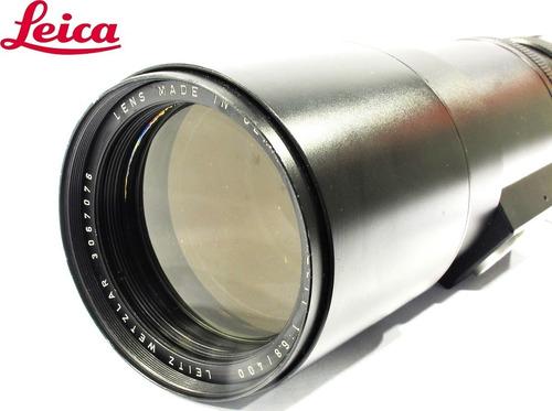 lente leica telyt-r 400mm f/6,8 - usada com garantia