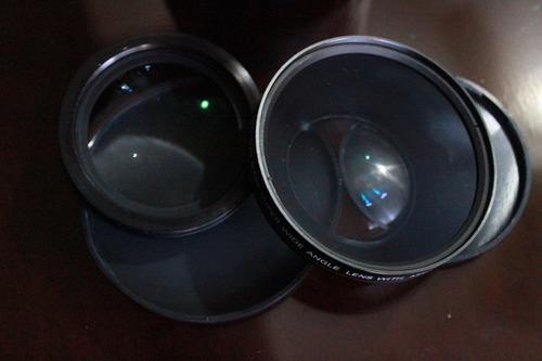 lente  macro digital high definition  0.43 super wide angle