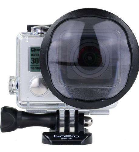 lente macro  para  gopro hero 3 y hero 04 - p1007