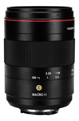 lente macro yongnuo 60mm f/2 ne mf