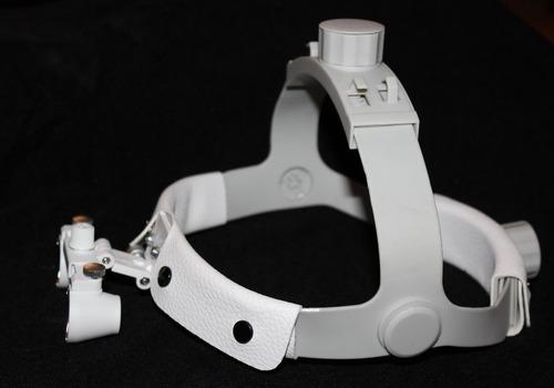 lente magnificacion headband 2.5 dental luz led odontologia
