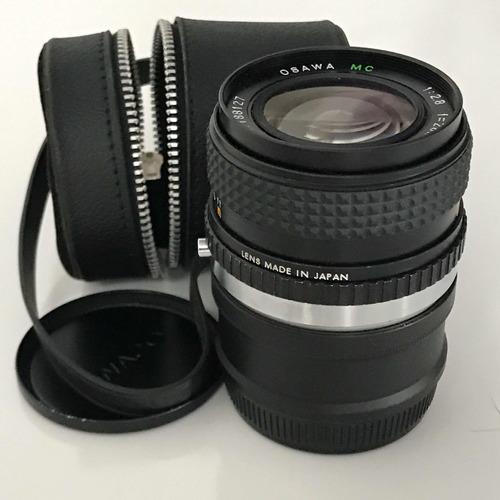 lente manual antiga grande angular 28mm p/ sony a6500 a7 nex