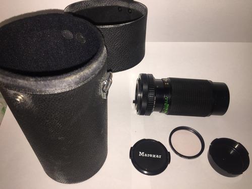 lente marexar-c 80-200mm 1:4.5 zoom lens canon c/fd mount
