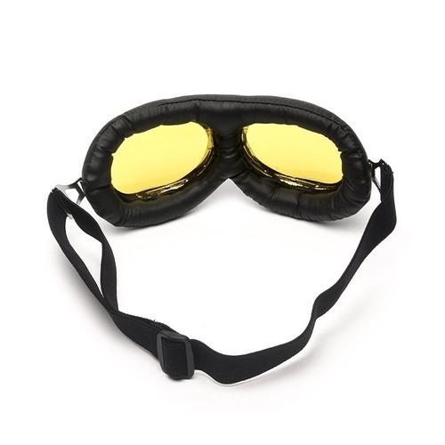 1c2b055f2d862 lente moto óculos. Carregando zoom... óculos aviador lente amarela estilo  vintage retro ...