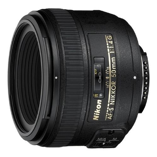 lente nikkor 50mm f/1.4 g af-s