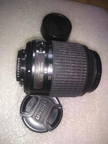lente nikkor 55 - 200 f 4.5 - 5.6 af montura dx