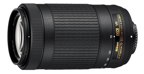 lente nikkor 70-300mm f/4.5-6,3 af-p dx vr
