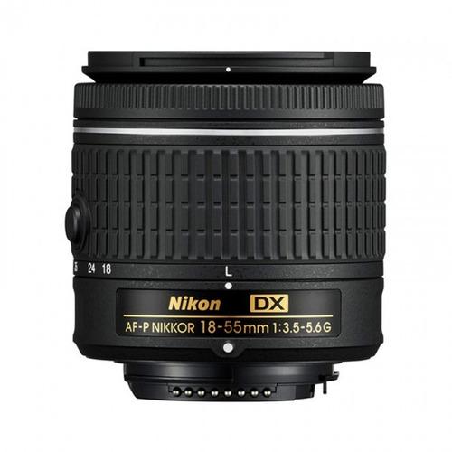lente nikkor af-p dx 18-55mm f/3.5-5.6g ¡envío inmediato!