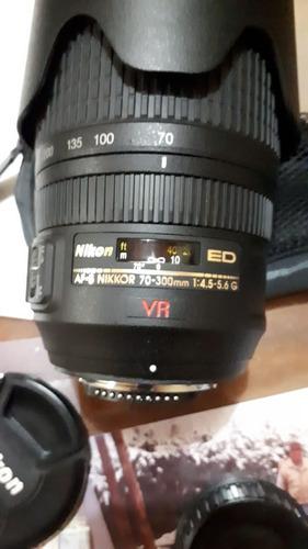 lente nikkor nikon af-s 70-300mm
