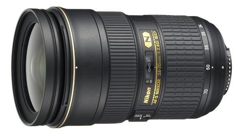 lente nikon 24-70mm af-s ed g n  fx f/2.8