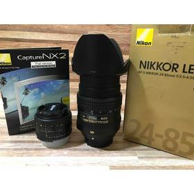 Lente Nikon 24-85m Vr + 50m F/1.8d