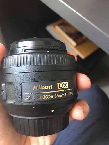 lente nikon 35mm 1.8