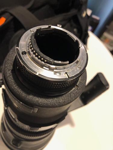 lente nikon 400mm 2.8 - seminova