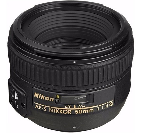 lente nikon 50mm f/1.4 g af-s fx