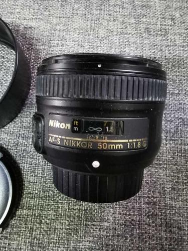 lente nikon 50mm f1.8 g