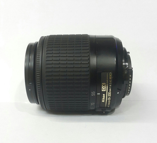 lente nikon 55-200mm f:4-5 6g ed usado