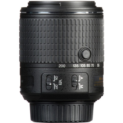 lente nikon 55-200mm f/4-5.6g ed vr ii dx. nuevo. r y m