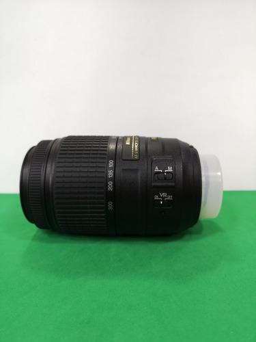 lente nikon 55 300 4.5-5.6g vr d5300 d5500 d5600 d7200 d7500