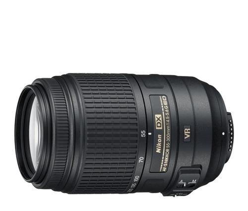 lente nikon 55-300mm f/4.5-5.6g vr af-s dx ed