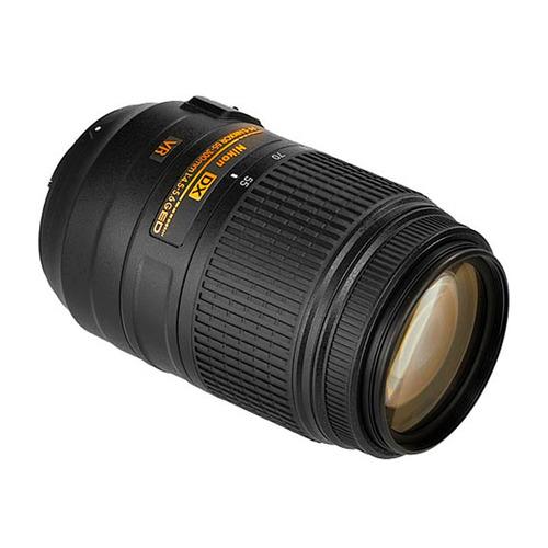 lente nikon 55-300mm zoom 5,5x reduce vibracion 17 elementos