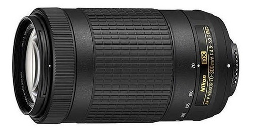 lente nikon 70-300mm f4.5-6.3g ed dx af-p telefoto nuevo