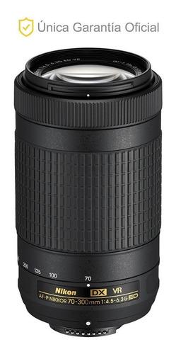 lente nikon 70-300mm f/4.5-6.3g ed vr af-p dx