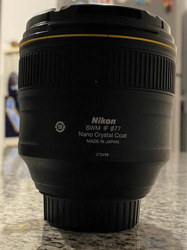 lente nikon 85mm f1.4