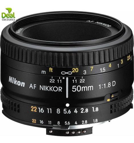 lente nikon af 50mm f/1.8d + af 70-300mm f/4-5.6 n u e v o s