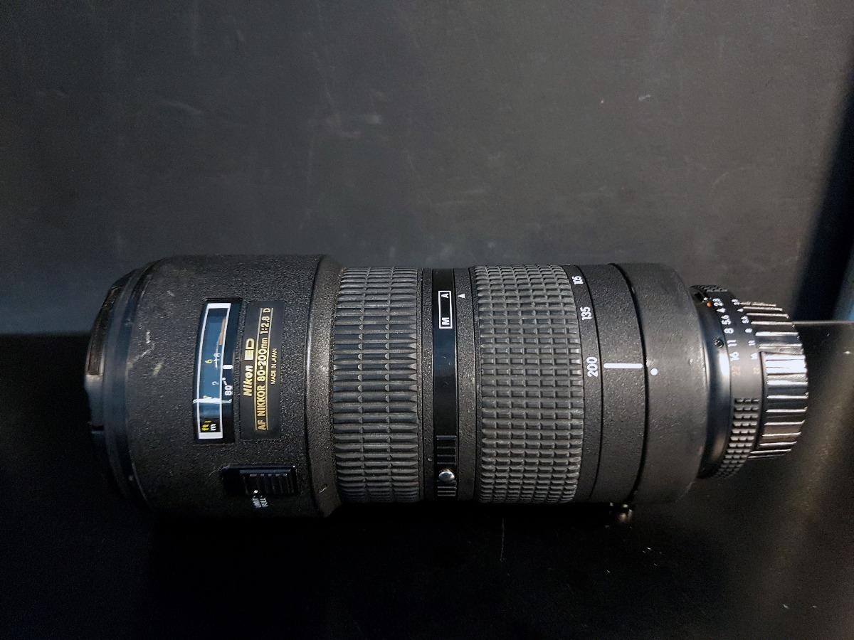 Lente Nikon Af 80 200mm F 28d Ed Nikkor C Circular Tripod R 24mm F28d Carregando Zoom