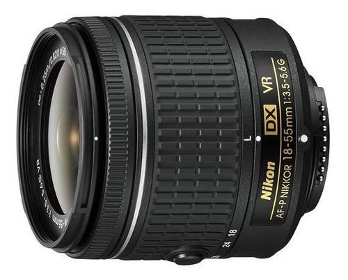 lente nikon af-p dx nikkor 18-55mm f3.5-5.6g vr