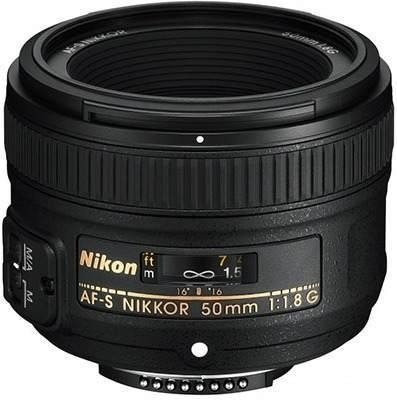 lente nikon af-s 50mm 50 mm f/1.8g nikkor 1.8, gtía. y envío