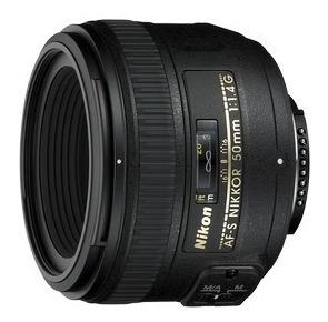 lente nikon af-s 50mm f/1.4g hasta 18 cuotas s/int