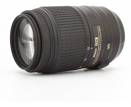 lente nikon af-s 55-300mm f/4.5-5.6g ed vr