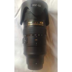 Lente Nikon Af-s 70-2002.8 G Vr Ii Ed Japon