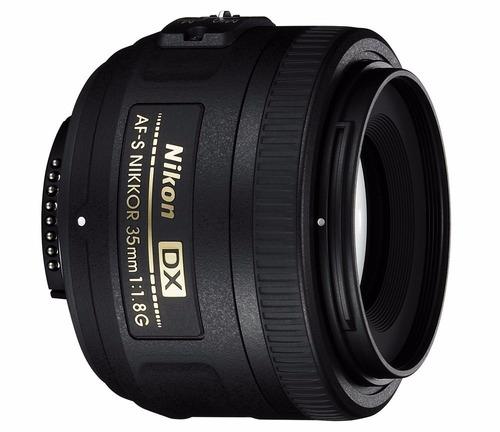 lente nikon af-s dx 35mm f/1.8g 35 mm 1.8 g, gtia y envio