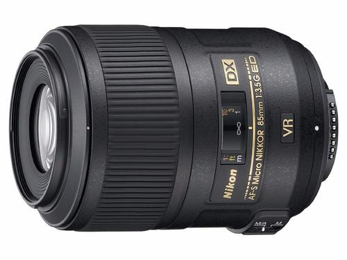 lente nikon af-s dx micro nikkor 85mm f/3.5g ed vr nuevo