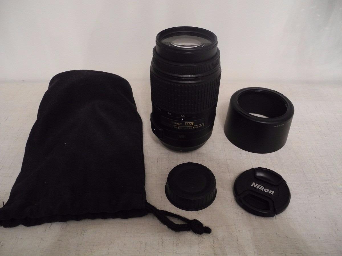 Lente Nikon Af S Dx Nikkor 55 300mm F 45 56g Ed Vr R 79900 Em Carregando Zoom