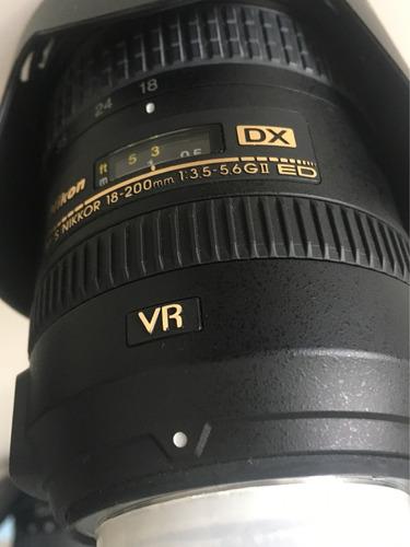 lente nikon af-s nikkor 18-200mm 1:3.5-5.6 gii ed vr