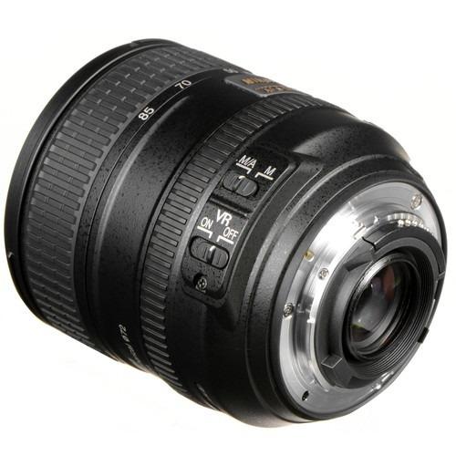 lente nikon af-s nikkor 24-85mm f/3.5-4.5g ed vr